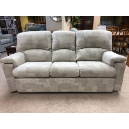 SHOWROOM CLEARANCE ITEM - G Plan Chloe Suite - 3 Seater Sofa, Power Recliner & Small Chair