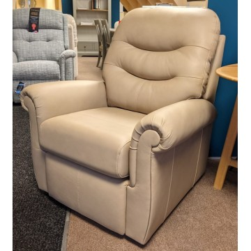 SHOWROOM CLEARANCE ITEM - G Plan Holmes Leather Armchair - Standard Size
