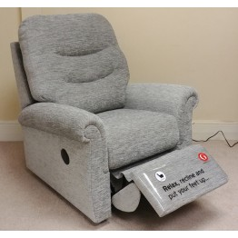 SHOWROOM CLEARANCE ITEM - G Plan Holmes 3 Seater Sofa, Power Recliner & Small Chair