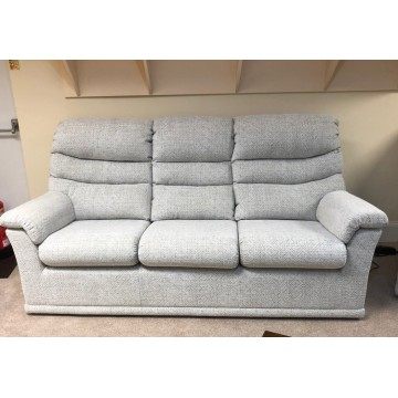 SHOWROOM CLEARANCE ITEM - G Plan Malvern 3 Seater Sofa with a powered recliner.