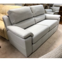 SHOWROOM CLEARANCE ITEM - G Plan Taylor Suite - 3 seater sofa, chair & power recliner in Leather.