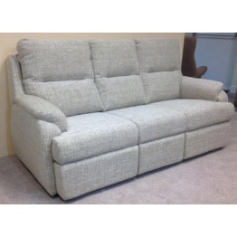SHOWROOM CLEARANCE ITEM - G Plan Hartford Suite - three seater sofa, chair and manual recliner chair.