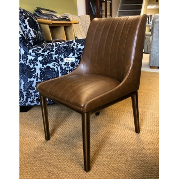 SHOWROOM CLEARANCE ITEM - Frank Hudson Living Nero Chair