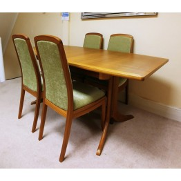 SHOWROOM CLEARANCE ITEM - Nathan Shades Teak Table and 4 Chairs
