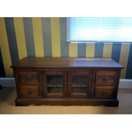 SHOWROOM CLEARANCE ITEM - Old Charm TV Unit with Drawers - Model 2821