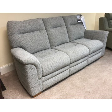 SHOWROOM CLEARANCE ITEM - Parker Knoll Hudson Suite - 3 Str Sofa & Power Recliner