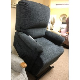 SHOWROOM CLEARANCE ITEM - RISER RECLINER - Nevada Royale Dual Motor Lift and Tilt Recliner in Fabric