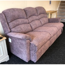 SHOWROOM CLEARANCE ITEM - Sherborne Olivia 3 Seater Sofa and Manual Recliner