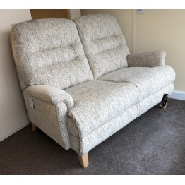 SHOWROOM CLEARANCE ITEM - Sherborne Keswick Classic 2 Seater Sofa and Power Recliner