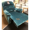 SHOWROOM CLEARANCE ITEM - RISER RECLINER - Sherborne Olivia Standard Single Motor Lift and Rise Recliner in Fabric