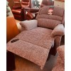 SHOWROOM CLEARANCE ITEM - Sherborne Upholstery Olivia 2 Seater Recliner Sofa, Chair & Power Recliner