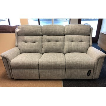 SHOWROOM CLEARANCE ITEM - Sherborne Roma 3 Seater Sofa and Manual Recliner