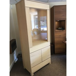SHOWROOM CLEARANCE ITEM - Skovby SM312 Display Unit - White Oak Oil Finish