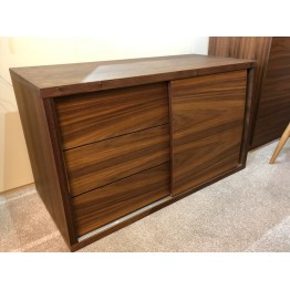 SHOWROOM CLEARANCE ITEM - Skovby SM772 TV Cabinet - Walnut Lacquered Finish