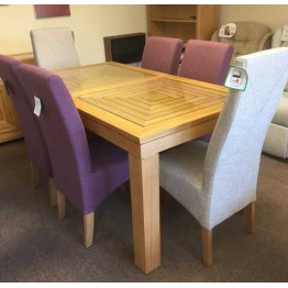 SHOWROOM CLEARANCE ITEM - Willis & Gambier Maze Dining Suite - Table and 6 Chairs