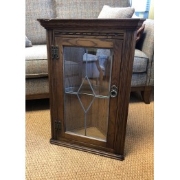 2770 Wood Bros Old Charm Hanging Corner Cabinet - ONLY ONE LEFT