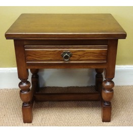 SHOWROOM CLEARANCE ITEM - Old Charm Lamp Table with Drawer - Model 2843