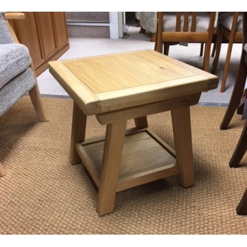 SHOWROOM CLEARANCE ITEM - Old Charm Wood Bros Frame Side Table - FR007