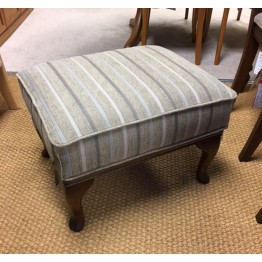 SHOWROOM CLEARANCE ITEM - Old Charm Wood Bros Accent Footstool ACC112
