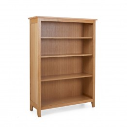 Corndell Nimbus 1277 3 Shelf Bookcase - 134cm High x 97cm Wide - Code 2544