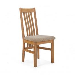 Corndell Nimbus C4 Slatted Dining Chair - Wheat Fabric - Code 2788