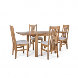 Corndell Nimbus Dining Suite (1281 table & 4 Natural C4 Chairs)