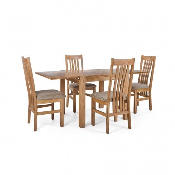 Corndell Nimbus Dining Suite (1281 table & 4 Wheat C4 Chairs)