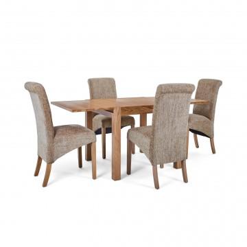 Corndell Nimbus Dining Suite (1281 table & 4 Wheat C22 Bibury Chairs)