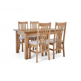 Corndell Nimbus Dining Suite (1282 table & 4 Natural C4 Chairs)