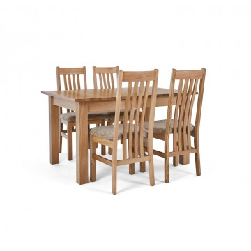 Corndell Nimbus Dining Suite (1282 table & 4 Wheat C4 Chairs)