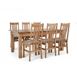 Corndell Nimbus Dining Suite (1282 table & 6 Wheat C4 Chairs)
