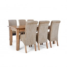 Corndell Nimbus Dining Suite (1282 table & 6 Wheat C22 Bibury Chairs)