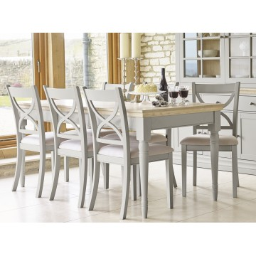 Corndell Annecy Extending Top Dining Table with Chairs