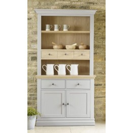 Corndell Annecy small open hutch top sitting on the small sideboard base