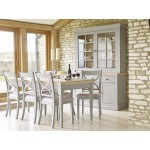 Corndell Annecy Dining Furniture in Smoke Grey colour