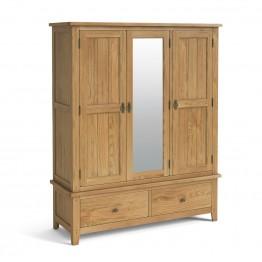 Corndell Burford 5873 Triple Wardrobe