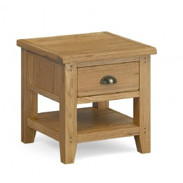 Corndell Burford 5876 Lamp Table with Drawer