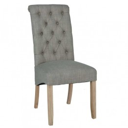 Corndell Daylesford Button Back Chair - Cream