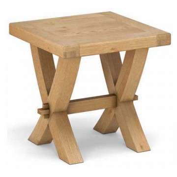 Corndell Fairford Cross Leg Lamp Table