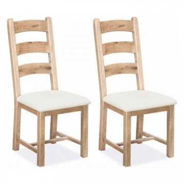 Corndell Fairford Dining Chair With Fabric Seat - 3 Rung