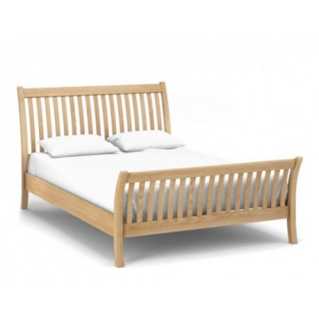 Corndell Nimbus 1253 Curved Bedframe 6ft Wide King Size Double