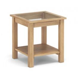Corndell Nimbus 1480 Glazed Lamp Table