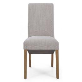 Corndell Nimbus C22 Bibury Dining Chair - Natural Fabric - Code 4363