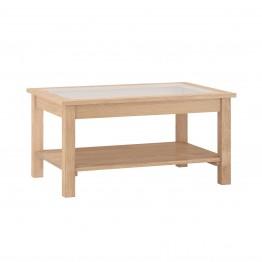 Corndell Nimbus 1479 Coffee Table with Glazed Top - Code 3663