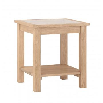 Corndell Nimbus 1480 Lamp Table with Glazed Top - Code 3664