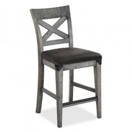 Corndell Paxton Cross Back Bar Chair