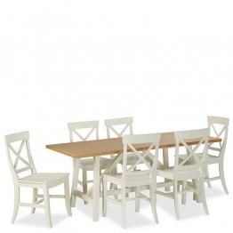 Corndell Tetbury Trestle Dining Table 1800