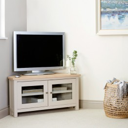 Corndell Woodstock Corner TV Unit