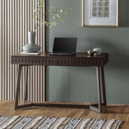 Boho Retreat 2 Drawer Desk