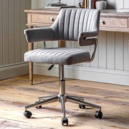 Mcintyre Swivel Chair - Grey